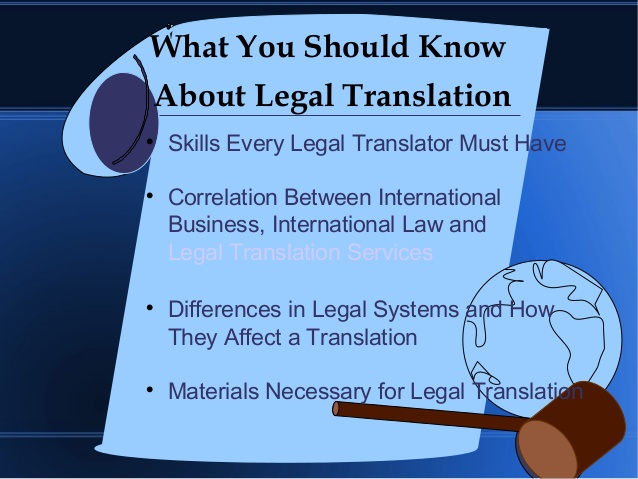 Legal Translation – Who Can And Who Should Do It